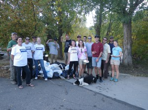 Friends of the Yampa River Cleanup, September 28, 2012